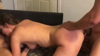 Double Alpha Homemade Gangbang